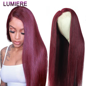 Lumiere 1B/27 Ombre Color Lace Front Human Hair Wig