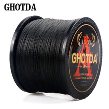 4 Strands Multi-filament Braided Fishing Line