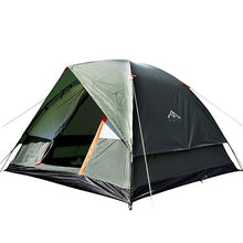 3-4 Person Windbreak Camping Dual Layer Waterproof Pop Up Tent.