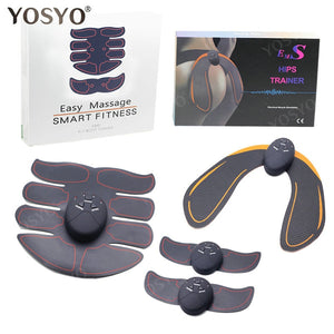 Wireless Unisex EMS Hips Abs Toner