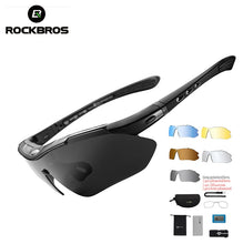 5 Lens Polarized Sports Men Cycling Sunglasses