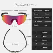 NRC 3 Polarized Lens UV400 Sports Cycling Sunglasses