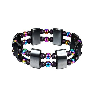 1 Piece Black  Magnetic Weight Loss Therapy Bracelet ( 17 variants )