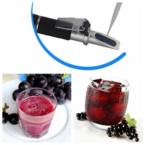 Dual-Scale Digital Refractometer