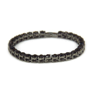 Hip Hop Iced Cubic Bracelet ( many sizes and color variants )