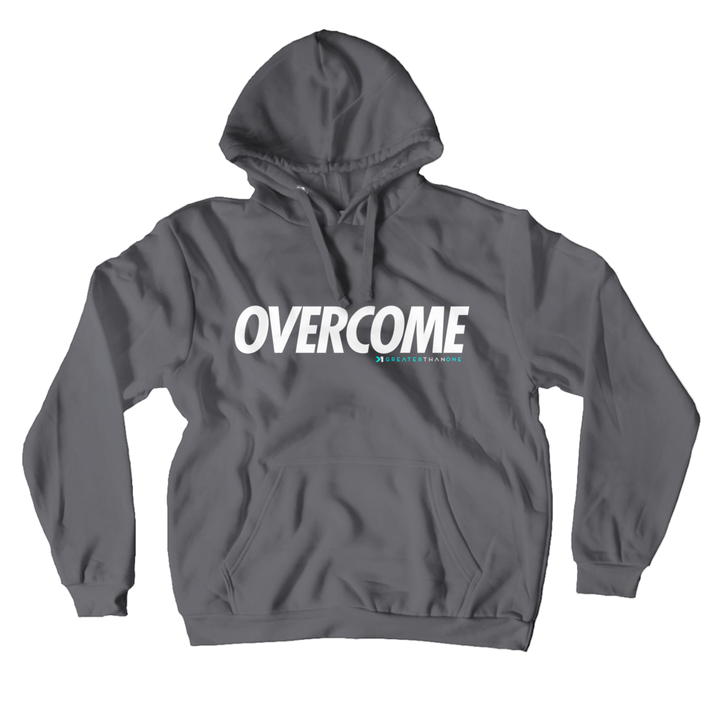OVERCOME UNISEX PULLOVER HOODIE