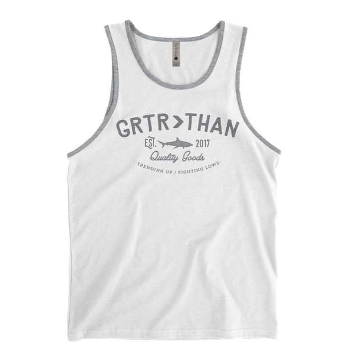 GREAT WHITE TANK TOP (MENS)