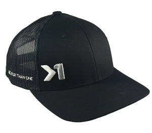 ANTHEM TRUCKER HAT (Black) - Greater Than