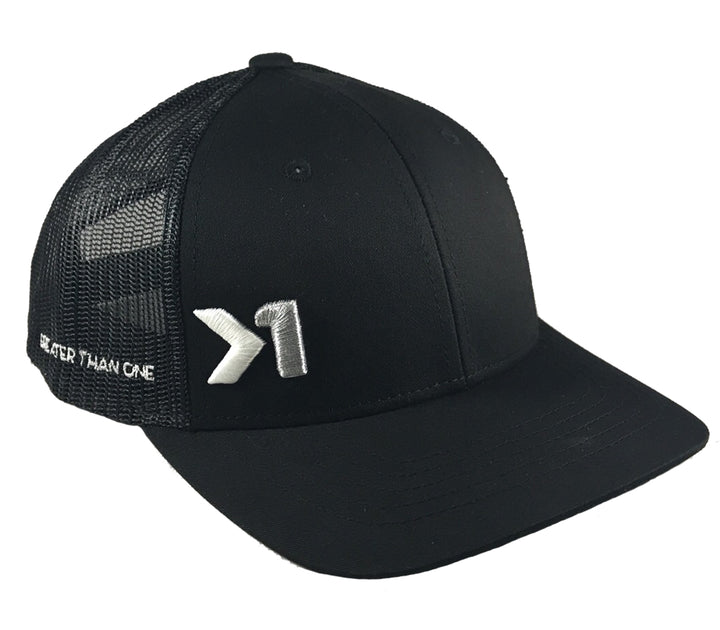 (SOLD OUT)ANTHEM TRUCKER SNAPBACK - BLACK
