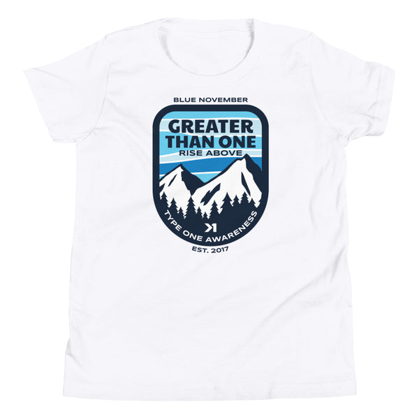 UNISEX YOUTH MOUNTAIN TOP TEE