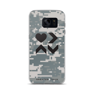 LOVE IS CAMO SAMSUNG CASE - Greater Than