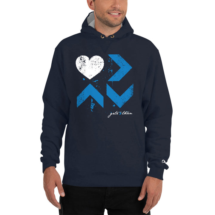 LOVE IS CHAMPION HOODIE