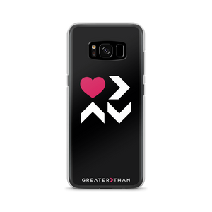 LOVE IS GREATER THAN HIGHS & LOWS SAMSUNG CASE