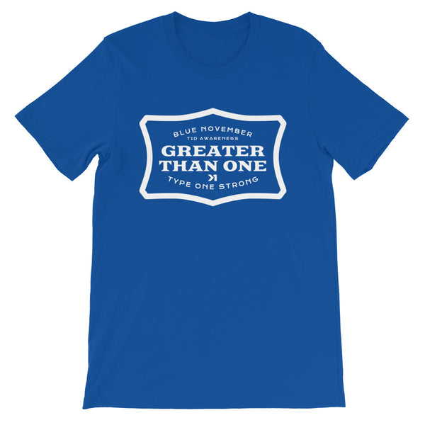 WOMENS BLUE NOVEMBER GAS TEE