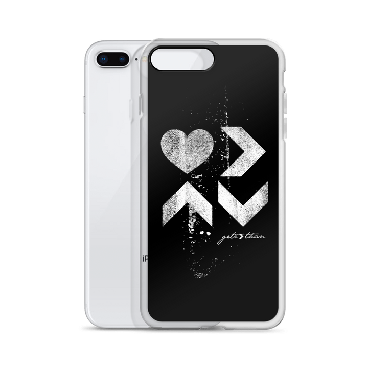 LOVE IS DISTRESSED iPHONE CASE - Greater Than