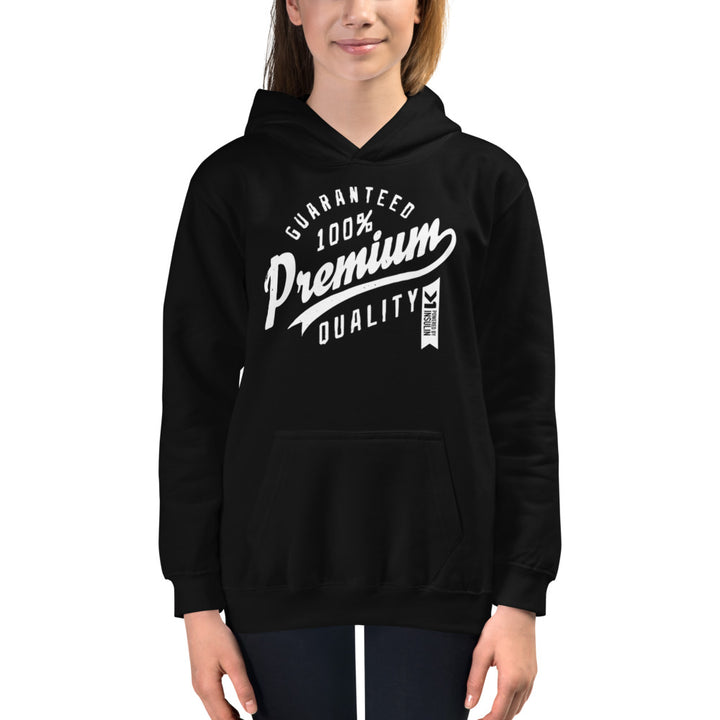 UNISEX YOUTH POWERED BY INSULIN HOODIE