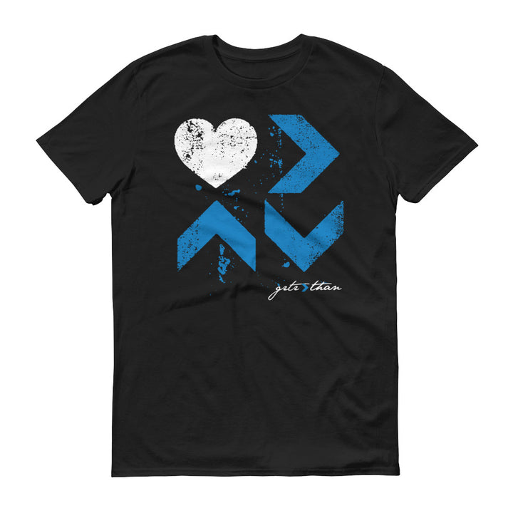 MENS BLUE NOV. LOVE IS TEE