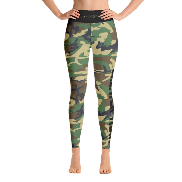 GT WOODLAND CAMO LEGGINGS