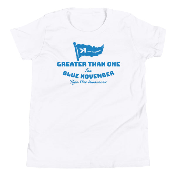 UNISEX YOUTH BLUE NOV. FINISH LINE TEE