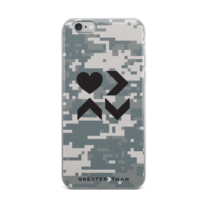 LOVE IS CAMO iPHONE CASE - Greater Than