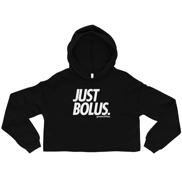 BLUE NOVEMBER - JUST BOLUS CROP HOODIE (WOMEN'S) - Greater Than