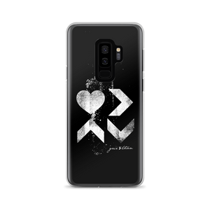 LOVE IS DISTRESSED SAMSUNG CASE - Greater Than