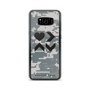 CAMO LOVE IS GREATER THAN HIGHS & LOWS SAMSUNG CASE