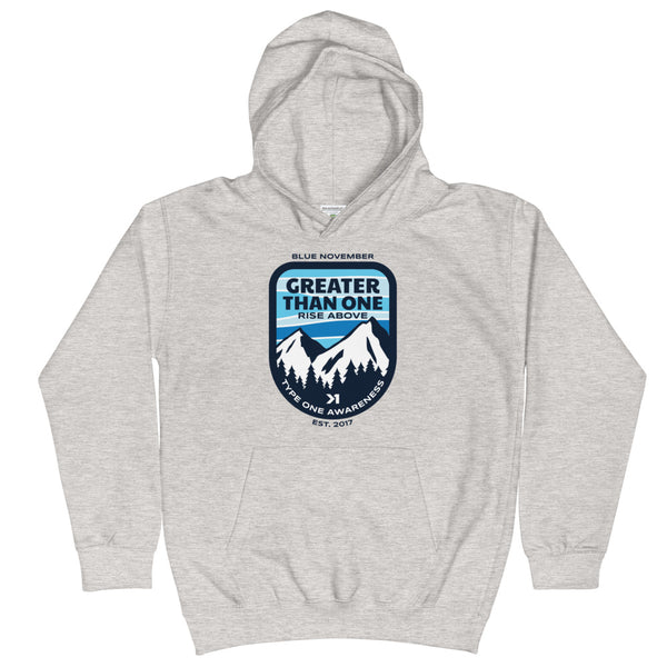 UNISEX YOUTH MOUNTAIN TOP HOODIE