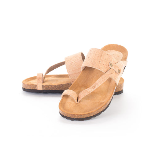 Eco-friendly Vegan Cork Sandals - Liore's Premium Cork