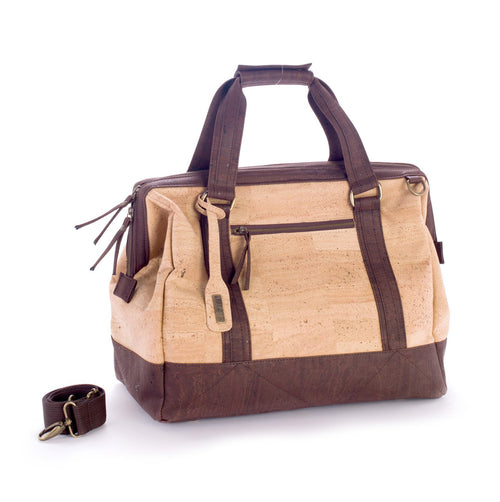 High Quality Handmade Cork Travel Bag - Liore's Premium Cork