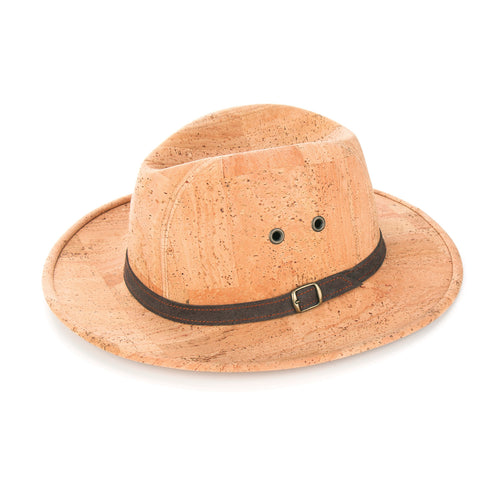 Natural  Panama Cork Hat - Liore's Premium Cork