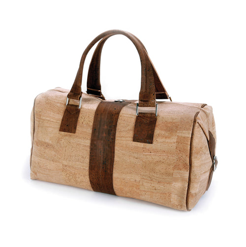 Classic Vegan Cork Travel Bag - Liore's Premium Cork