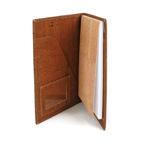 Eco-friendly Handmade Cork Notebook Holder - Liore's Premium Cork