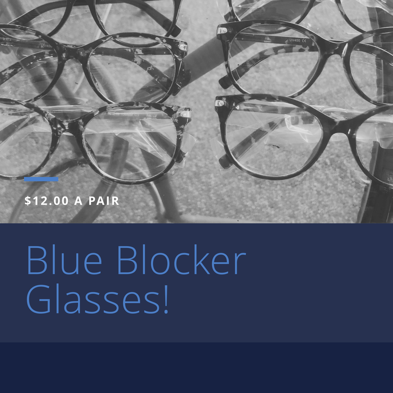 Blue Blocker Glasses - WenLeeMae Boutique
