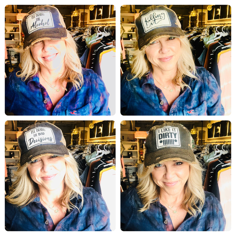 I'll bring the alcohol hat - WenLeeMae Boutique