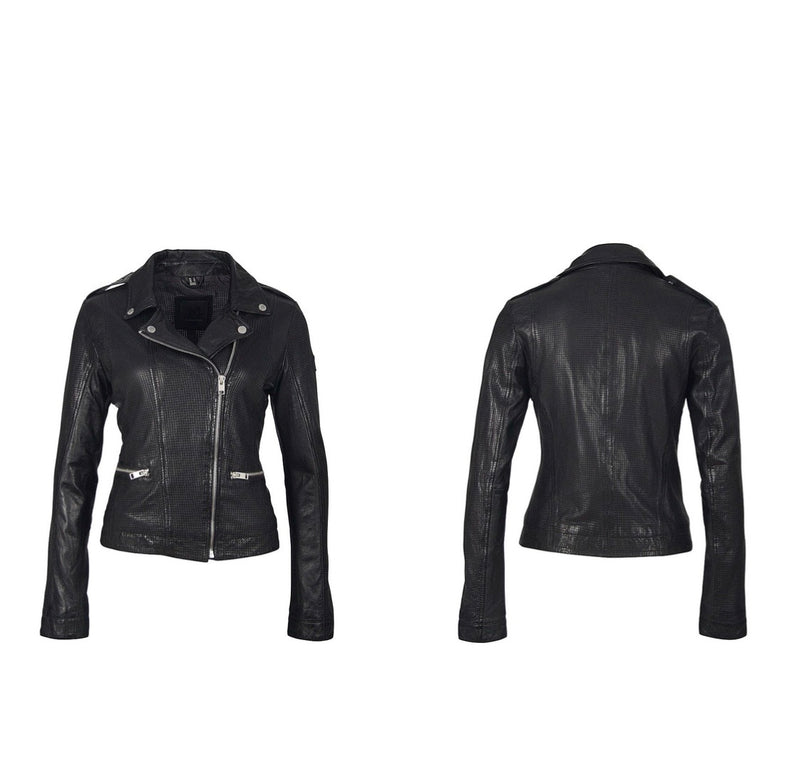 Freepy Leather Jacket - WenLeeMae Boutique