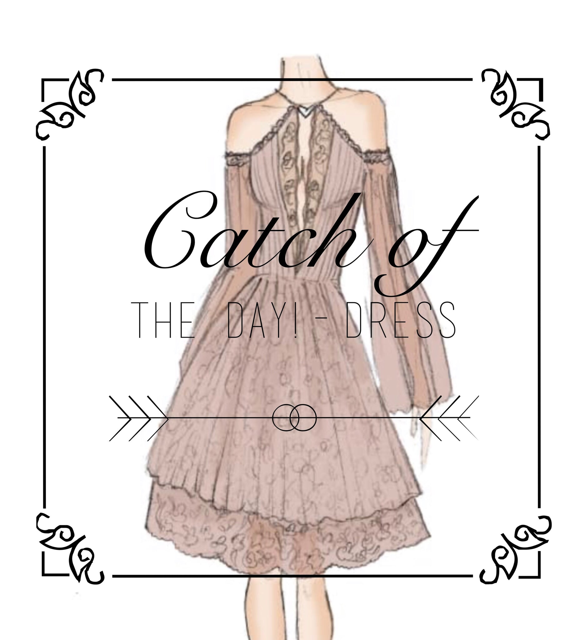 Catch of the Day! Dress !FINAL SALE