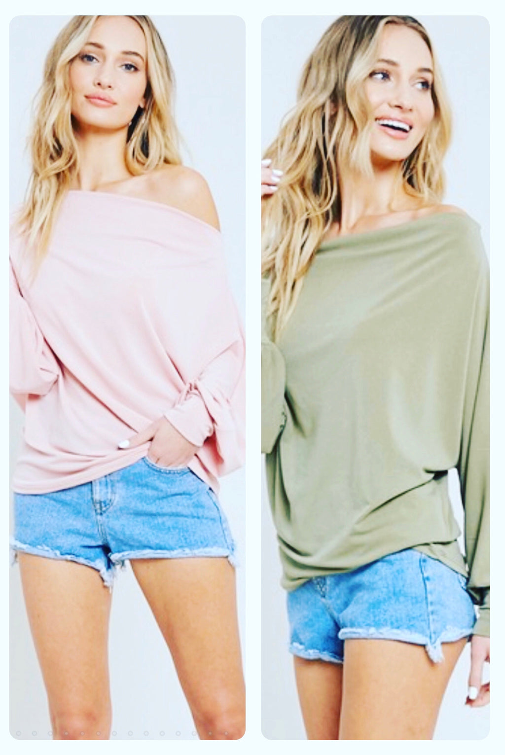 Dolman sleeve knit top - WenLeeMae Boutique