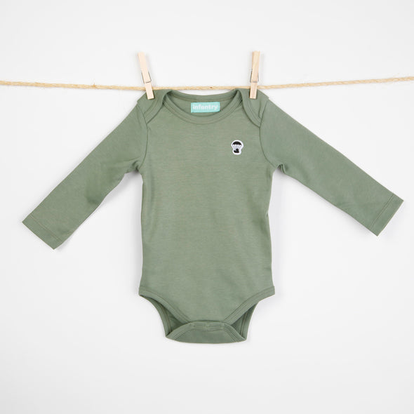 INFANTRY Organic Long Sleeve Bodysuit