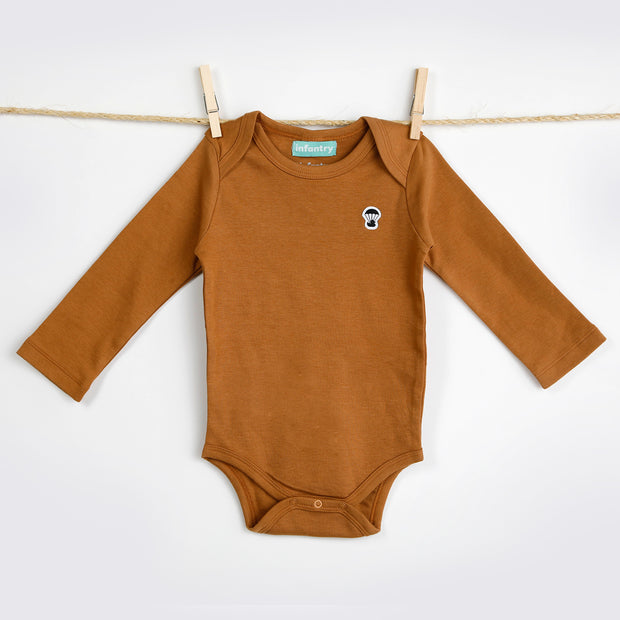 CLASSIC LONG SLEEVE BODYSUIT | GINGER