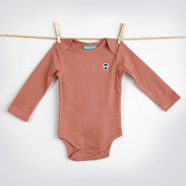 CLASSIC LONG SLEEVE BODYSUIT | PINK