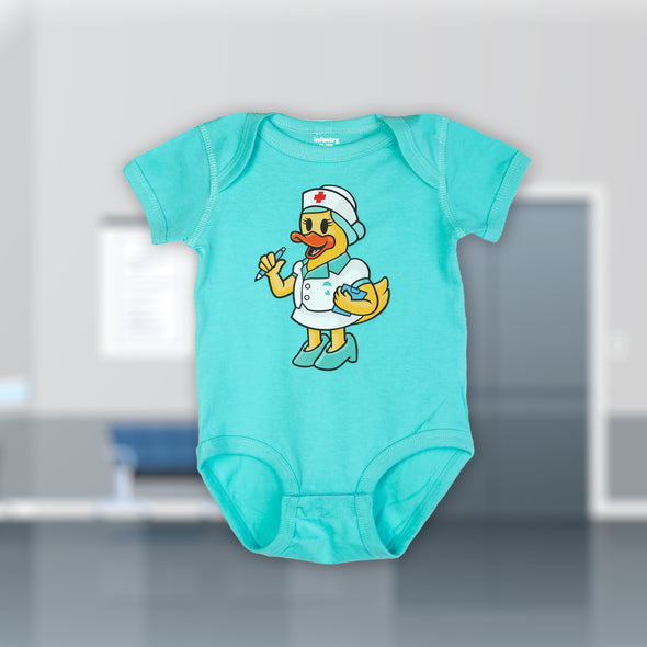 NURSE DUCKY BODYSUIT
