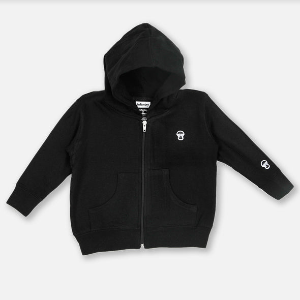 Paraducky Classic Patch Hooded Zip-up Jacket