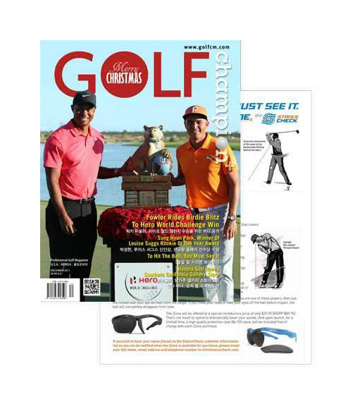 StanceCheck Featured in Golf Champion Magazine