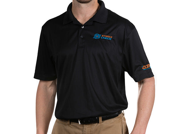 StanceCheck Golf Performance Polo