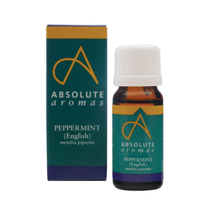 Absolute Aromas Peppermint (English) Essential Oil 0.33 Fl. Oz.