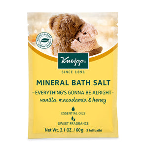 Kneipp Everything's Gonna Be Alright Mineral Bath Salt 2.1 Oz.