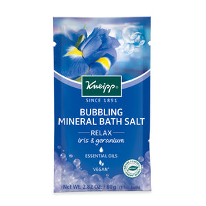 Kneipp Relaxing Bubbling Mineral Bath Salt 2.82 Oz.