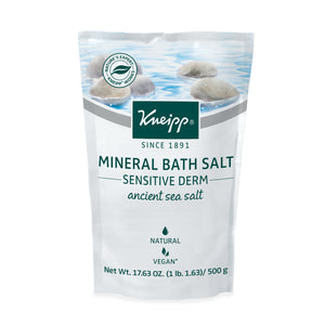 Kneipp Sensitive Derm Mineral Bath Salt 17.63 Oz.