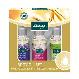 Kneipp Body Oil Trio Set 0.67 Fl. Oz.